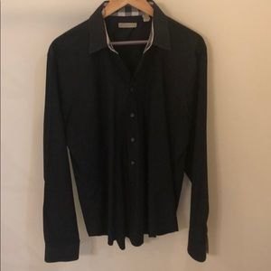 Burberry long sleeve button down - Large